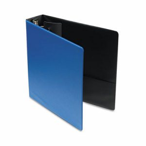 "Premier Easy Open Locking Round Ring Binder, 2"" Cap, 11 x 8 1/2, Medium Blue"