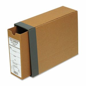 "COLUMBIA Recycled Binding Cases, 2 1/2"" Cap, 11 x 8 1/2, Kraft"