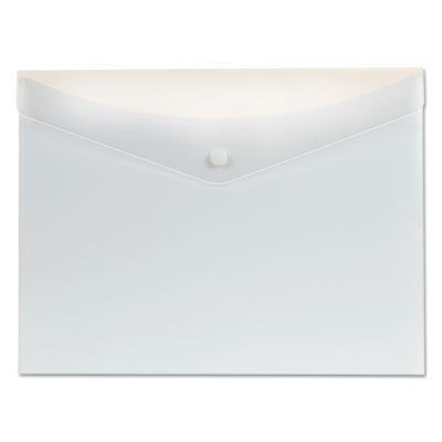 Poly Snap Envelope, 8 1/2 x 11, White