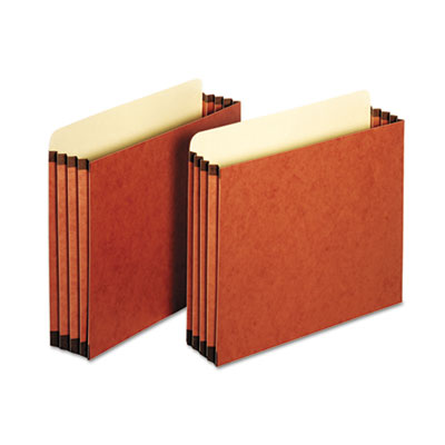File Cabinet Pockets, Straight Cut, 1 Pocket, Letter, Redrope