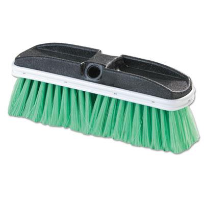 "Vehicle Brush, Nylex, Green Bristles, 10"", 2 1/2"" Bristles"