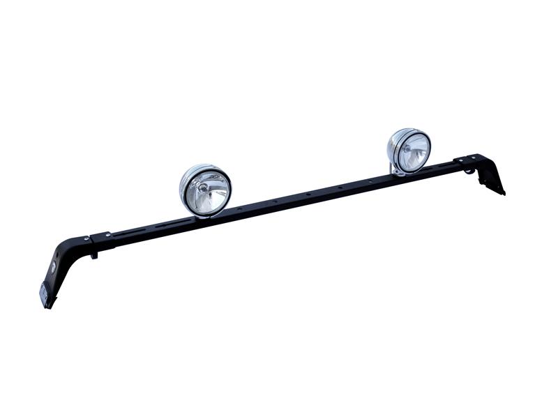 Deluxe Rota Light Bar Black Powder Coat