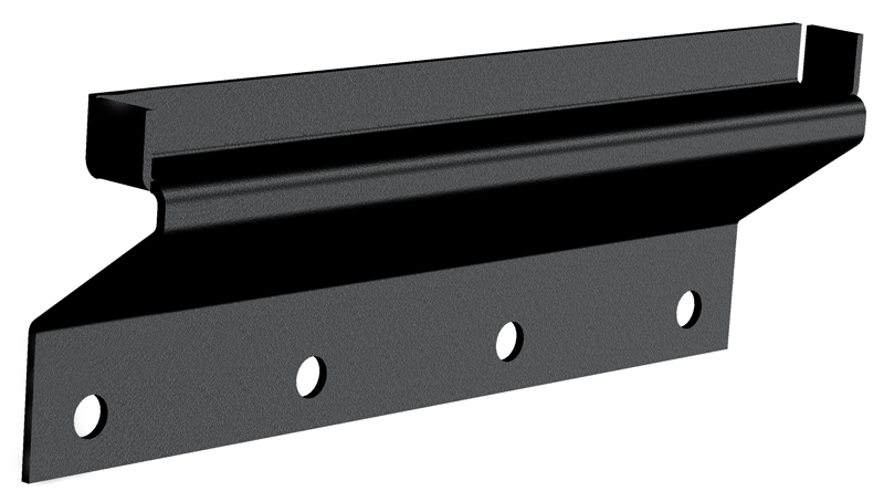 Gutter-less Mount Kit Black Powder Coat