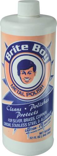 BRITE BOY METAL POLISH QUART