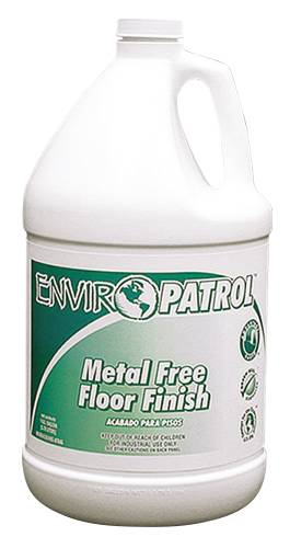 FLOOR CARE METAL FREE FLOOR FINISH