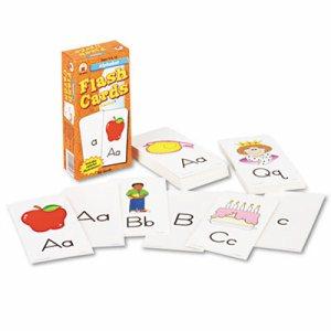 Flash Cards, Alphabet, 3w x 6h, 80/Pack