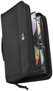 Case Logic 3200044 Nylon CD Wallets (92 Disc)
