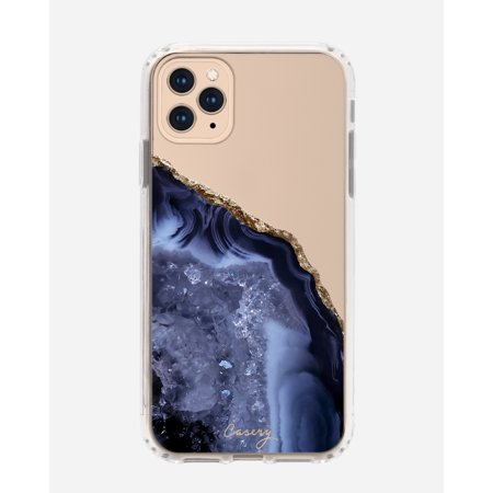 CASERY 11PROMH-0239 DARK BLUE AGATE CASE FOR IPHONE 11 PRO