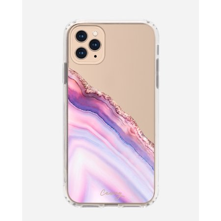 CASERY 11PROMH-0241 PINK AND BLUE AGATE CASE FOR IPHONE 11