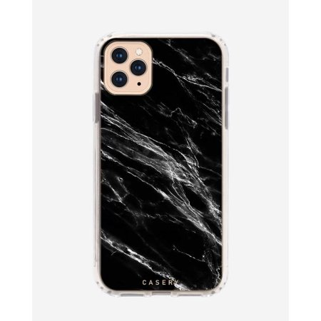 CASERY 11PROMH-0297 BLACK MARBLE CASE FOR IPHONE PRO MAX.