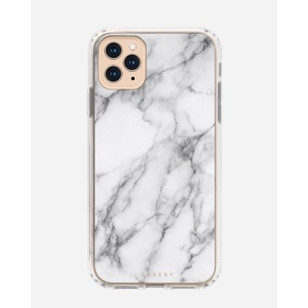 CASERY 11PROMH0298 WHITE MARBLE CASE FOR IPHONE 11 PRO MAX.