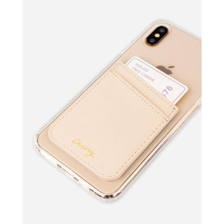 CASERY PP-LBE02 BEIGE LEATHER POCKET.