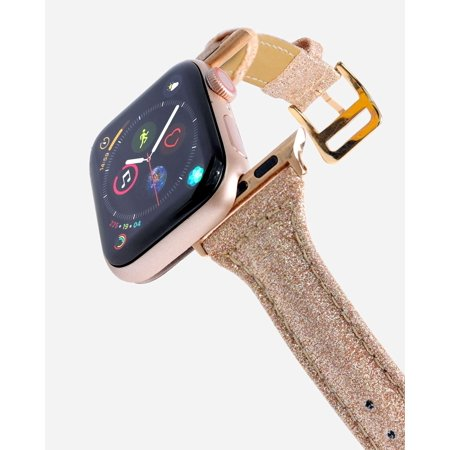 CASERY WB-4206 ROSE GOLD LEATHER BAND FOR APPLE WATCH