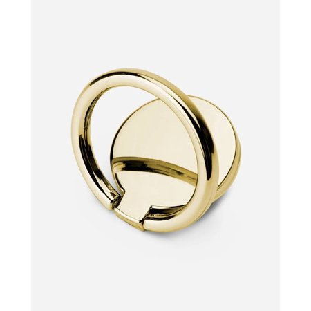CASERY PR-G01 GOLD COLOR METAL PHONE RING HOLDS PHONE FIRMLY