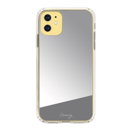 CASERY 11H-0406 MIRROR SILVER CASE FOR IPHONE 11.