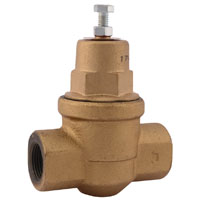 Sharkbite EB75 Pressure Regulating Valve, 3/4 in, FPT, 10 - 70 psi, Water, Air Media, Compact Iron Body, 180 deg F