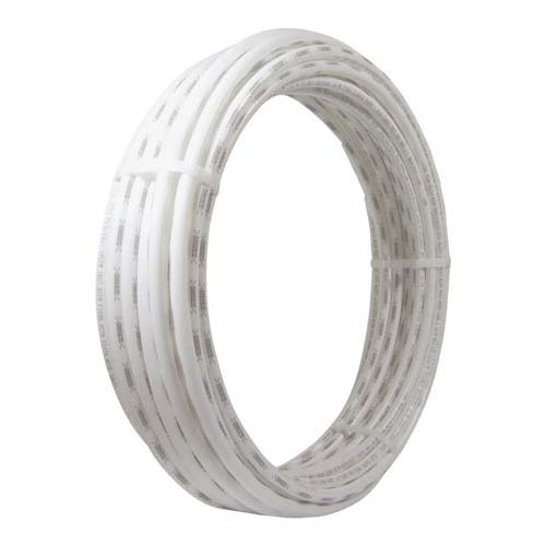 TUBE PEX WHTE 1/2IN 100FT COIL