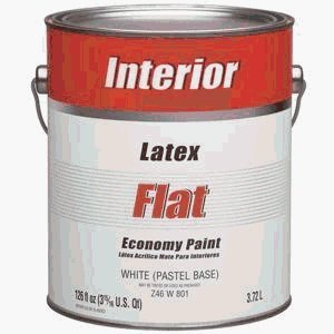 Z46W00801 1 Gallon Interior Flat White/Pastel Base