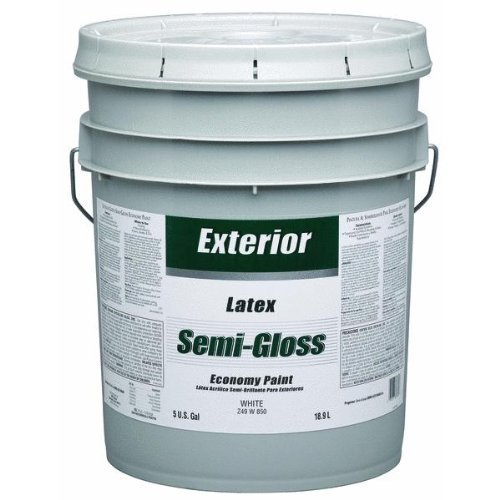 Z49W00850 5 Gallon Exterior Semi-Gloss White