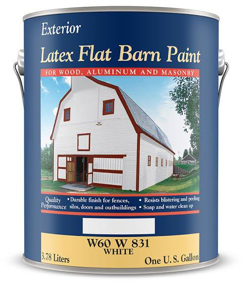 W60R00831-16 1G RED BARN PAINT