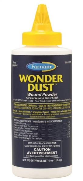 POWDER WOUND WONDER DUST 4OZ