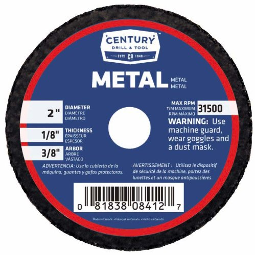 08412 2X1/8 METAL CUTOFF WHEEL