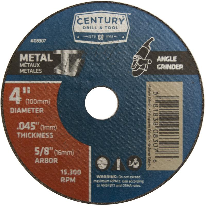 08307 4X.045 METAL CUTOFF WHEEL