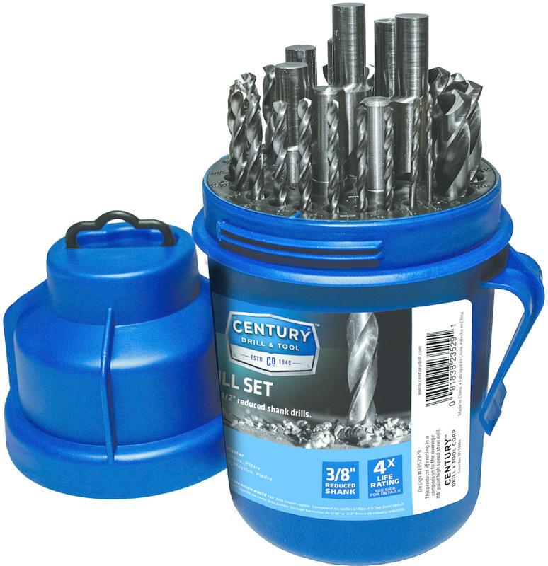 Century Drill /& Tool 24210 Pro Grade Black Oxide Drill Bit 5//32