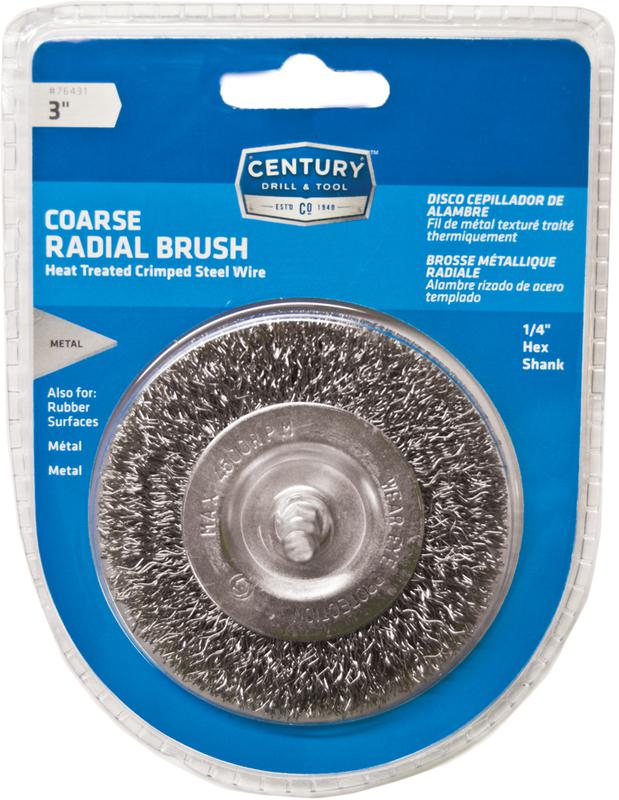 76431 3 IN. COURSE RADIAL BRUSH