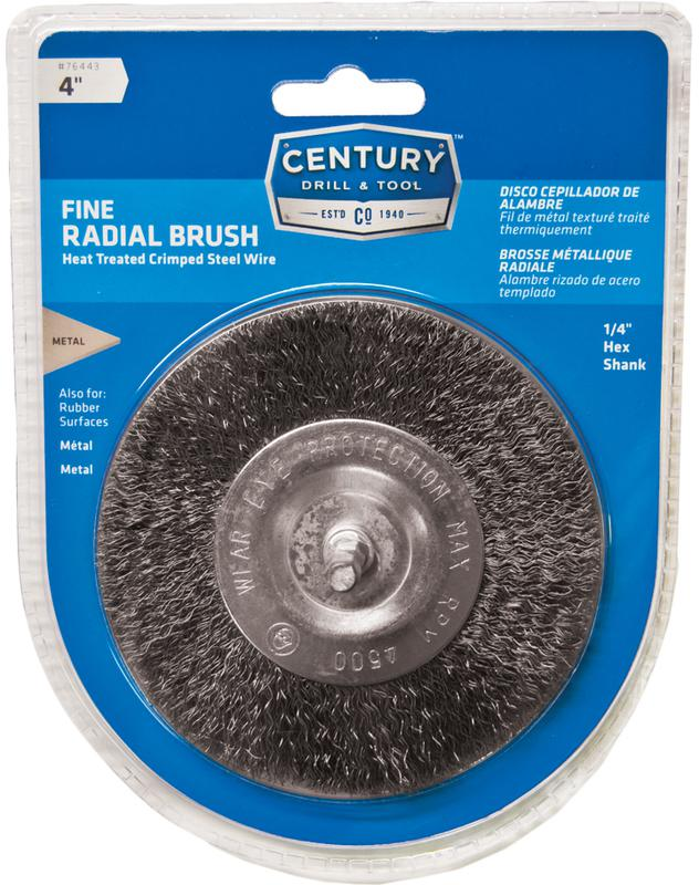76443 4 IN. FINE RADIAL BRUSH