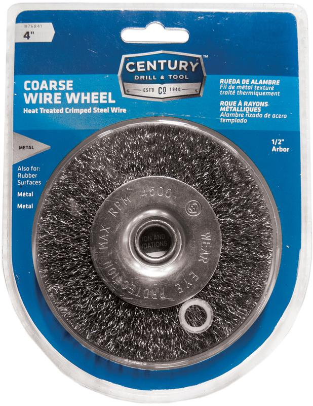 76841 4 IN. COARSE WIRE WHEEL