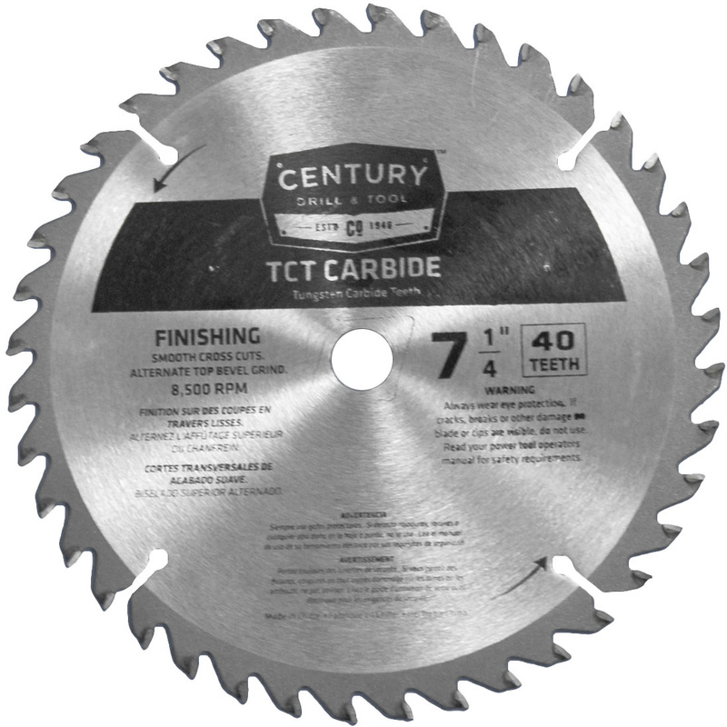 09208 7-1/4 IN. 40T CARBIDE BLADE