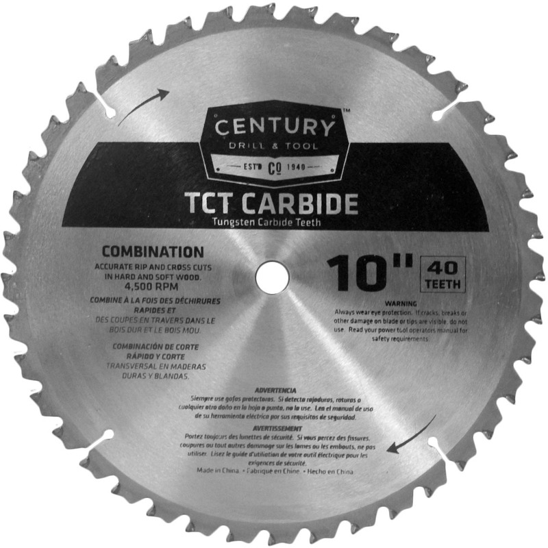 09934 10 IN. 40T CARBIDE BLADE