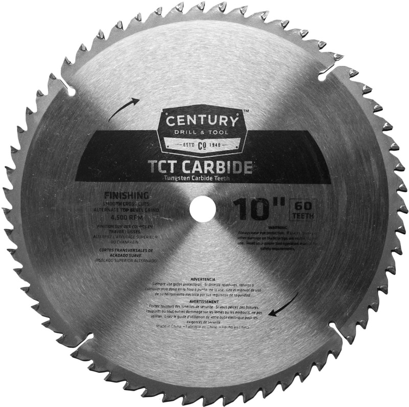 09936 10 IN. 60T CARBIDE BLADE