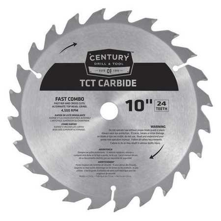 09930 10 IN. 24T CARBIDE BLADE