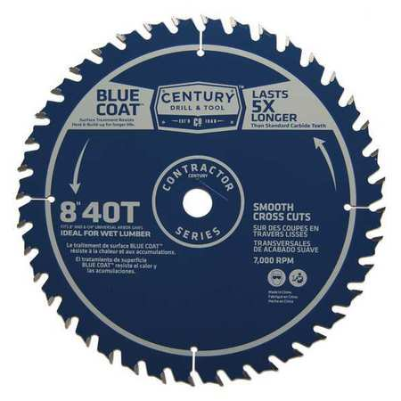 10286 8 IN. 40T FINISH SAW BLADE