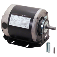 Century GF2034 Resilient Base Split Phase Electric Motor, 115 VAC, 6.8 A, 1/3 hp, 1725 rpm