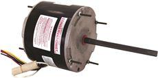 CENTURY� FE6003F MASTERFIT�PRO CONDENSER FAN MOTOR, 5-5/8 IN., 208-230 VOLTS, 2.4 - 1.1 AMPS, 1/2 - 1/5 HP, 825 RPM