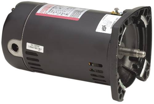 CENTURY� POOL MOTOR SINGLE SPEED 1 HP SQUARE FLANGE