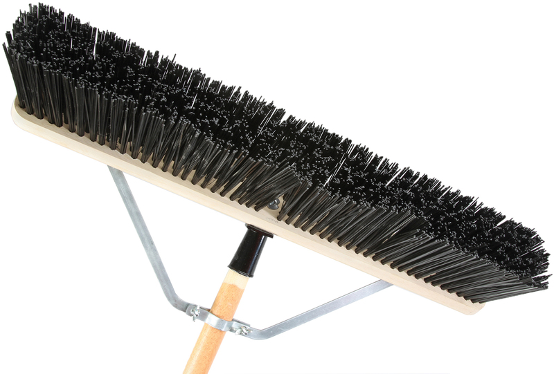 1435AJ 24 IN. STIFF BRI PUSHBROOM