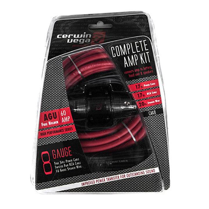 Cerwin Vega 8ga complete amp kits