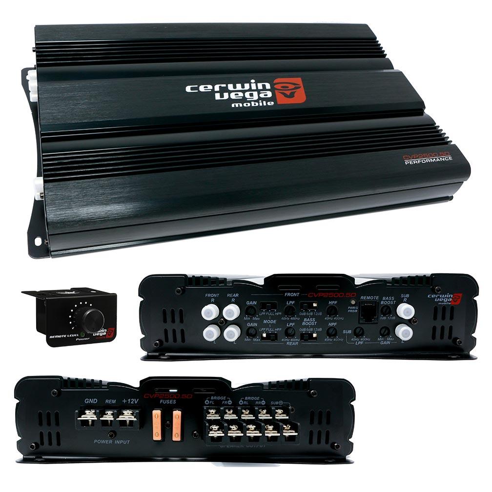 Cerwin Vega 5-Channel Amplifierl  2500 Watts Max
