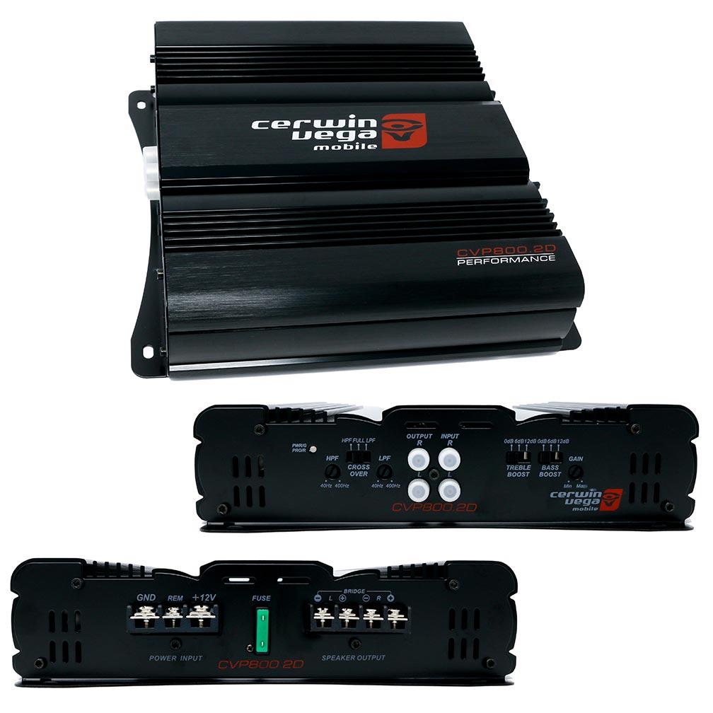 Cerwin Vega 2-Channel Amplifier  800 Watt MAX