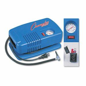 Electric Inflating Pump w/Gauge, Hose & Needle, .25hp Compressor