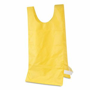 Champion Sports Heavyweight Pinnies, Nylon, One Size, Gold, 1 Dozen
