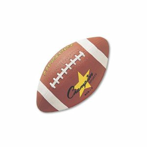 Rubber Sports Ball, For Football, Intermediate Size, Brown
