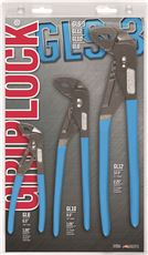 3 PIECE GRIPLOCK� PLIER SET 6.5 IN. - 9.5 IN. - 12.5 IN. PLIERS