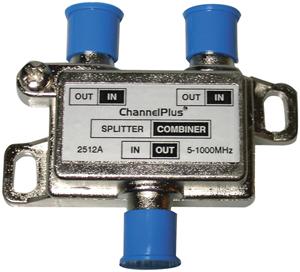 ChannelPlus 2512 DC/IR Passing Splitter/Combiner (2 way)