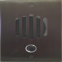 Oil Rubbed Bronze Door Plate Panasonic