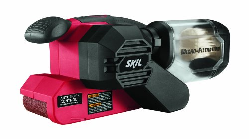 Skil 7510-01 Corded Sander with Pressure Control, 120 V, 6 A, 3/4 hp, 1050 rpm, 3 X 18 in
